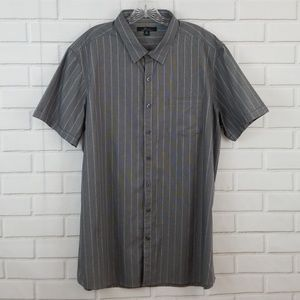Marc Anthony Slim Fit Striped Button Down Shirt
